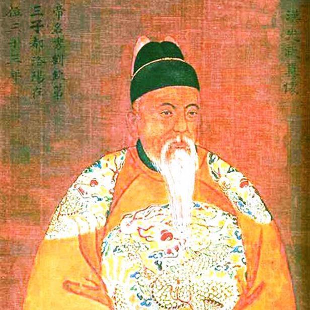 汉光武真像(帝名秀刘钦第三子都洛阳在位三十三年)
